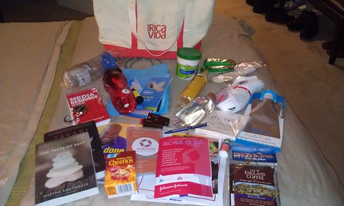 Blogalicious 2011--Swag Bag by aldorris105