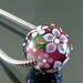 Charm bead : Amethyst garden