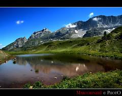 Dolomiti del Brenta (marcorenieri) Tags: panorama lago madonna cielo di montagna dolomiti brenta specchio campiglio gambassi mygearandme ringexcellence musictomyeyeslevel1