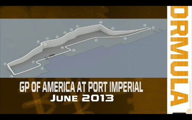 2012 New Jersey GP Layout