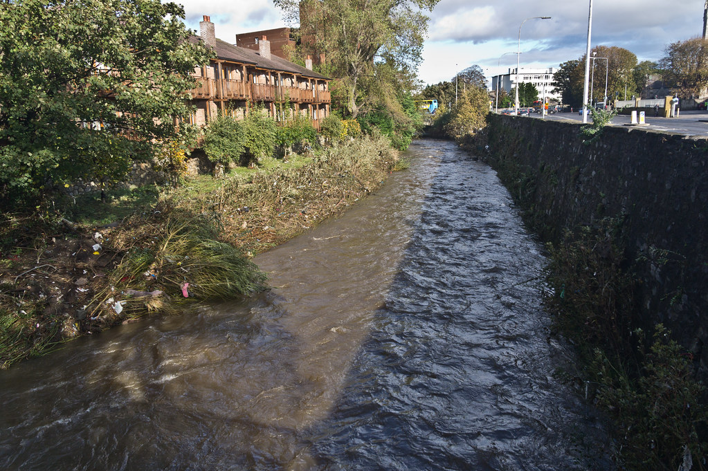 Flooding In Dublin - The River Dodder