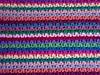 Reverse - Scales Pillow (LauraLRF) Tags: art rayas colors thread arte handmade stripes crochet craft colores cotton scales mano hilo cojin hecho algodon tejido escamas ganchillo