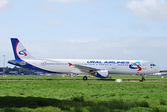 EI-EPM A321 Ural Airlines (corrydave) Tags: shannon ural a321 uralairlines eiepm