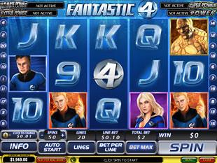 Fantastic Four slot game online review