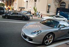 Noble M600 & Porsche Carrera GT (piolew) Tags: paris de hotel top casino monaco porsche carlo monte gt marques noble carrera combo 2011 m600 tm11