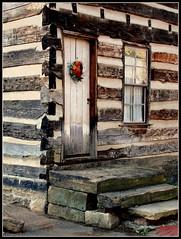 West Virginia   Wellsburg (e r j k . a m e r j k a) Tags: house log landmark brooke historic westvirginia wellsburg wv2 us22 upperohiovalley erjkprunczyk