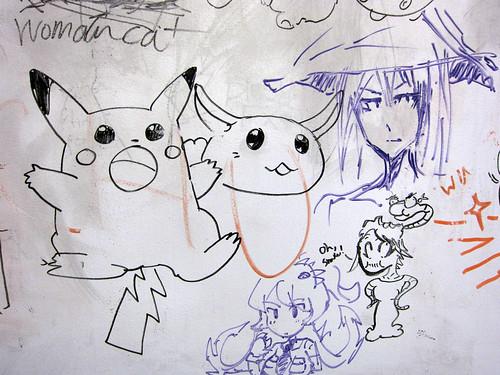 Pikachu and Rabite
