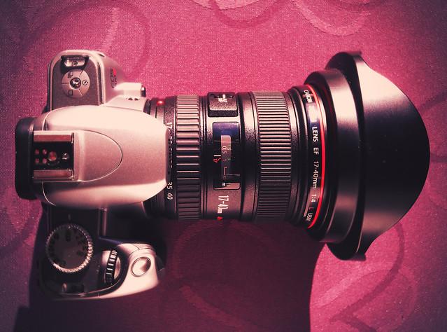Canon Eos 300V + Canon 17-40 F4L