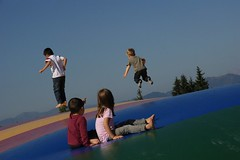 (Sharon Blomfield) Tags: travel salzburg playground austria europe trampoline childrenatplay osterreich pongau wagrain grafenberg skiamade wagrainisgrafenberg