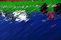 ripples (ito_hajime) Tags: blue red color green canon ripple yokohama       eos5dmarkii