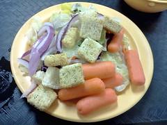 Token salad to make it healthy (Morton Fox) Tags: food de pizza cicis buffet newark