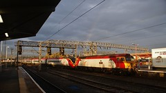 57311 - Crewe (Andy Doyle's General Photography) Tags: station drag plc railway trains class virgin crewe locomotive thunderbird parker 57 390 pendolino 57311