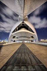 El Palau (CAC) (cesarmarch) Tags: building art valencia architecture night arquitectura nikon opera theater arts calatrava nocturna moder 1635 sciencies d700 cesarmarch wwwcesarmarchcom
