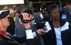 Vivian Richardson who is fighting foreclosure interviewed by @poorMagazine #occupysf  #occupyWallStreet