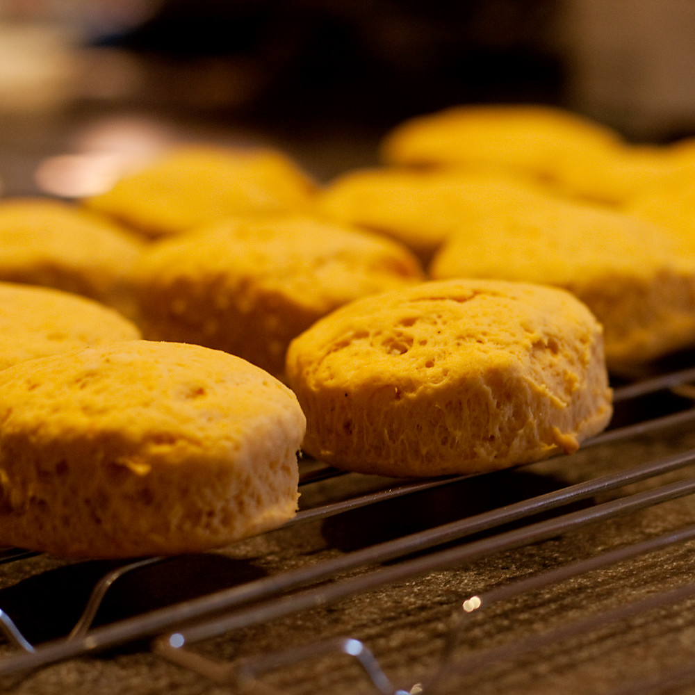 Square 25/31:  Sweet Potato Biscuits