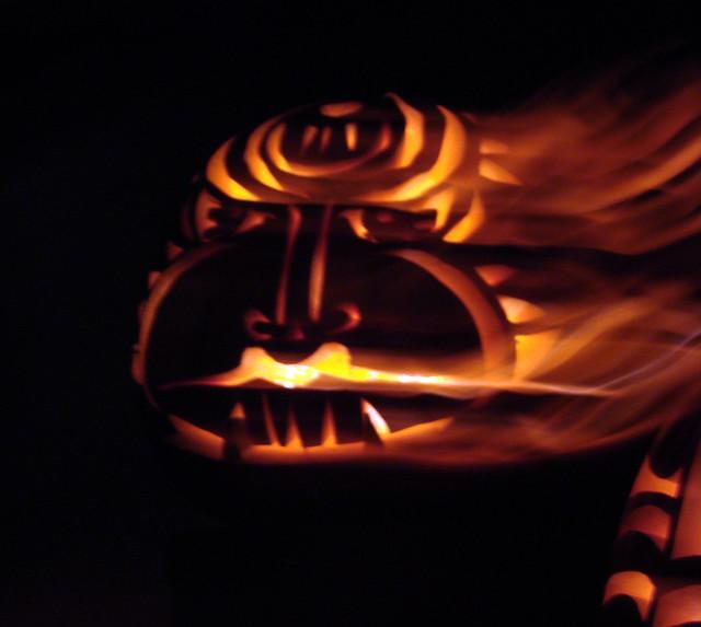 DSC07127 Stanford Pumpkins 2011 - ghoul