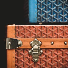 Paris, Maison E. Goyard, Luxury luggages (boris maillard) Tags: paris france canon luggage adobe luxury goyard lightroom boma 75008 preset dfoto adobelightroom canonef135mmf2lusm canonef135mmf20lusm eos7d