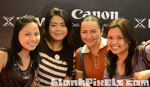 With fellow bloggers