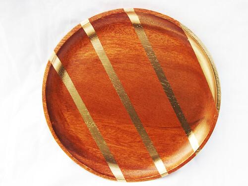 wooden-+-golden-plate