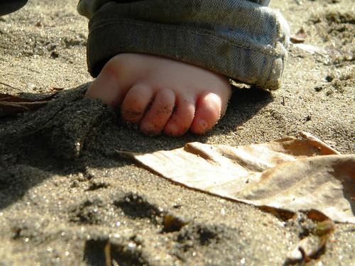 bare feet!