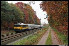 NSR 1731 + IC 146, Holten 30-10-2011 (Henk Zwoferink) Tags: berlin ic herfst db bahn schiphol holten berlijn 146 nsr 1731 betuweroute99 betuweroute100