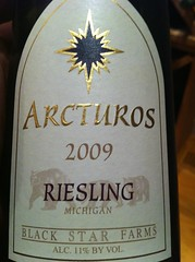2009 Black Star Farms Arcturos Riesling