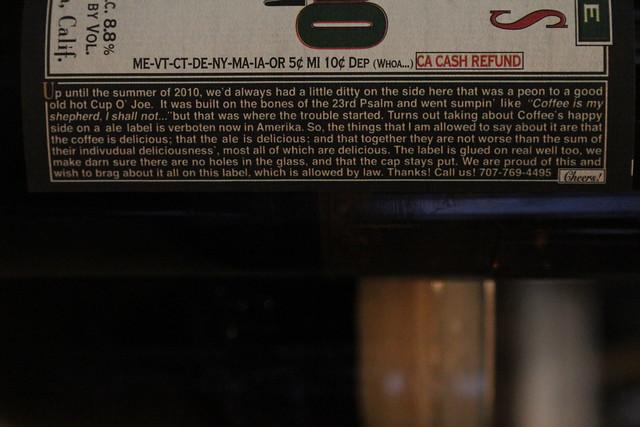 6309306433 efb7eaedac z Lagunitas Cappuccino Stout
