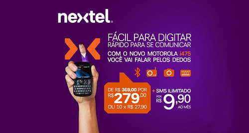 Landing Page - Nextel by chambe.com.br