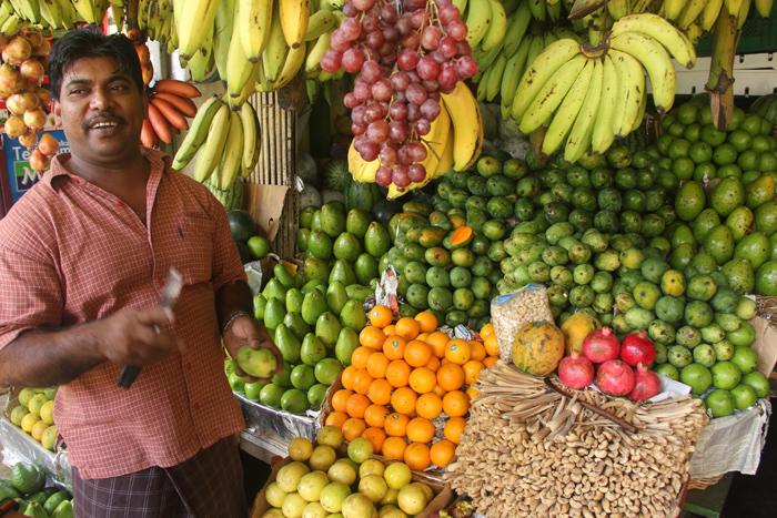 Fruit Man in Kandy, Sri Lanka