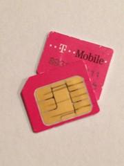 Micro-SIM van T-Mobile