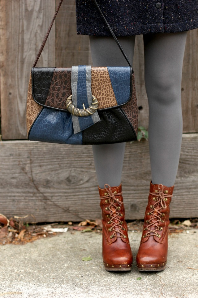 Rainy Afternoon bag and boots