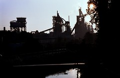 Arcelor Hayange (culture.industrielle) Tags: film analog 35mm fuji furnace industrie blast usine argentique haut arcelor pellicule mittal fourneau fensch siderurgie