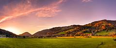 Sunset in Thalkirchdorf (Kay Gaensler) Tags: autumn fall canon germany deutschland eos herbst kay allgu 2011 40d gnsler gaensler wwwenslerde