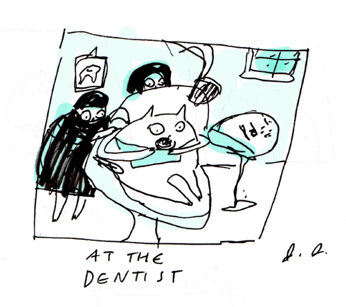 At the dentist