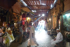 Marrakesh medina sees the light