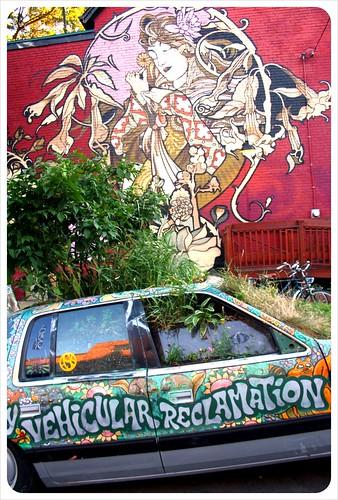 toronto car & mural