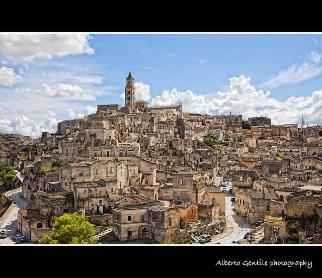 Quartiere sassi di Matera