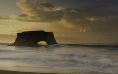 Heaven on Earth (ProudPinoy) Tags: santacruz statebeach ocean coast naturalbridge bridges goldenhour magichour twilight seascape landscape peterlik fineart gallery popphoto explore nikon canon sony proudpinoy jasonsalgadophotography noypi photographer california