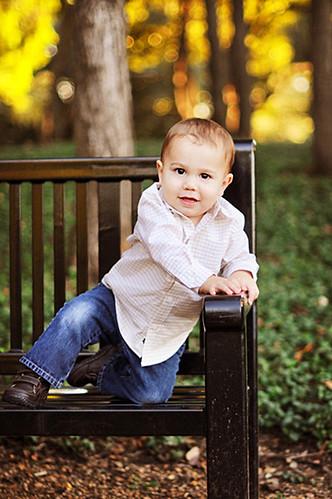 Luke on early bench