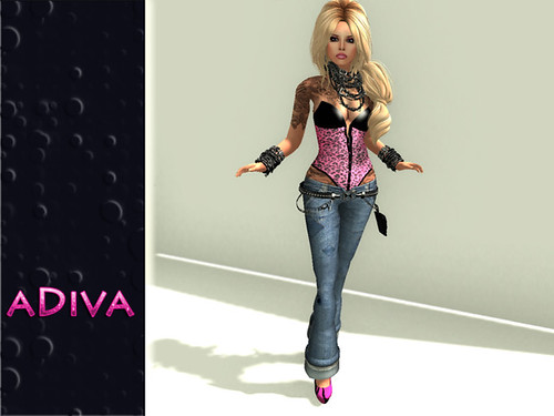 aDiva couture Barb Cheetah