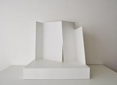 8a (sOFia`) Tags: wood sculpture art collage architecture madera objects objetos minimal escultura cardboard carton scenes misterio escenas precario espacios