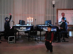Carle Wedding Howl at the Moon Piano-to-go Show by Dan Holmes Group