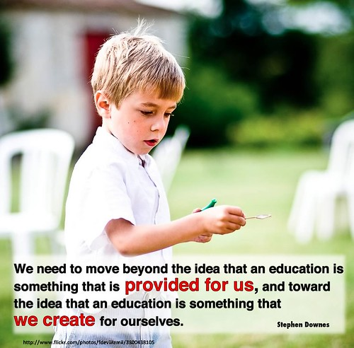 education is something we create