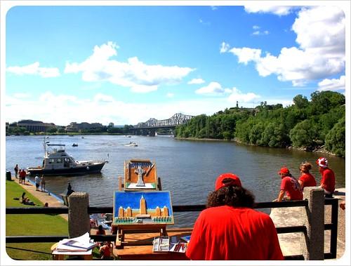 ottawa view over ottawa river