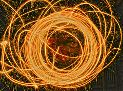 Sparkler experiments (4) (tmv_media) Tags: pictures nov uk november england night dark photo long exposure image sony picture trails experiment pic images photograph sparkler sparks 2011 tonemap a550 sal2875 tomvooght