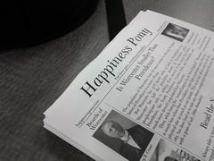 Happiness Pony, November 2011