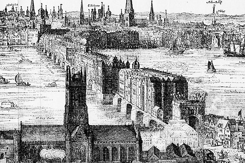 London Bridge, 1616 by trudeau