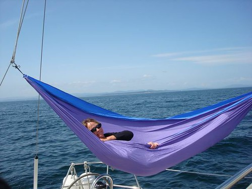 Share Your Hang Ups Hammocks On A Boat