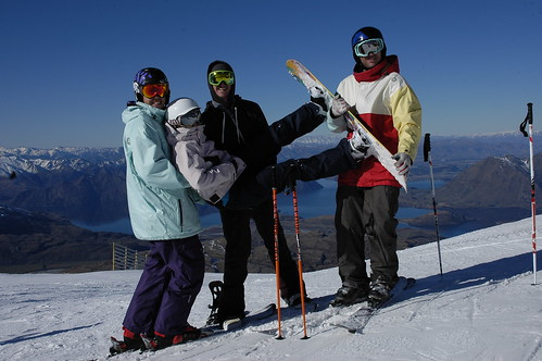 Come up and explore Treble Cone with friends