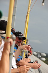 Spotters watch NCWTS practice atop the roof. (Homestead-Miami Speedway) Tags: familyfriends theworldiswatching